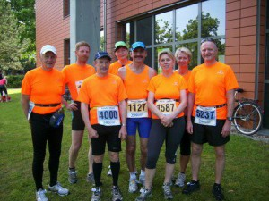 Unsere Starter beim Potsdamer Schlössermarathon / Halbmarathon